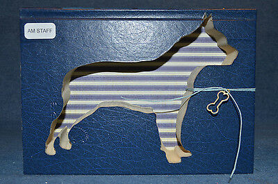 American Staffordshire Terrier Upcycled Book - 002