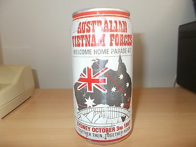 Australian Welcome Home Parade 1987 EMPTY CAN NO BEER