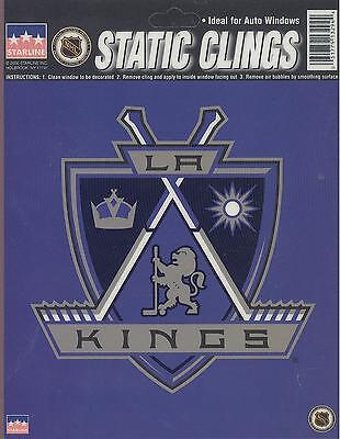 12 Los Angeles Kings 6 inch Static Cling Stickers