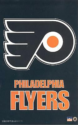 12 Philadelphia Flyers 5.5 x 8.5 inch Stickers