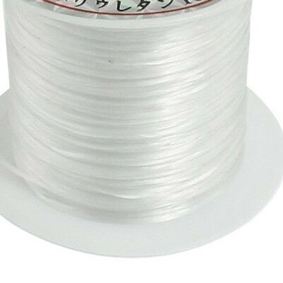 5x White Elastic Stretchy Crystal Line Jewelry Beading Thread Spool 9M DM