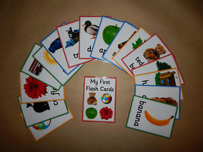 My First Flash Cards -  First Words - Toddlers/early learning/EYFS/SEN