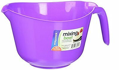 FLP 8053 Mix Bowl with Handle, 85-Ounce, Assorted colors