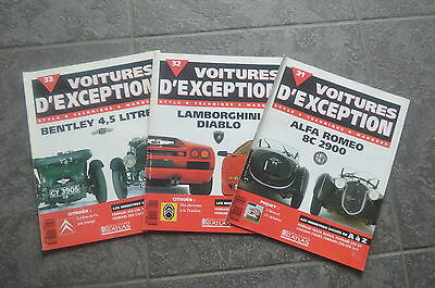 Voitures D'exception Magazine N°31-32-33