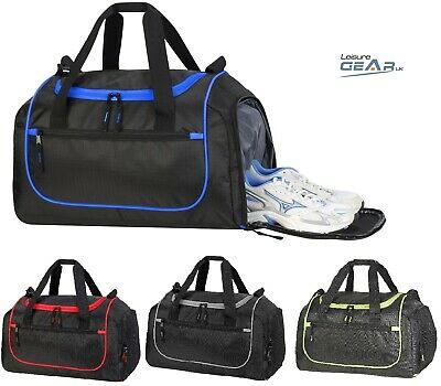 Mens Womens Gym Bag Sports Holdall Overnight Weekend Travel Luggage Kit Bags