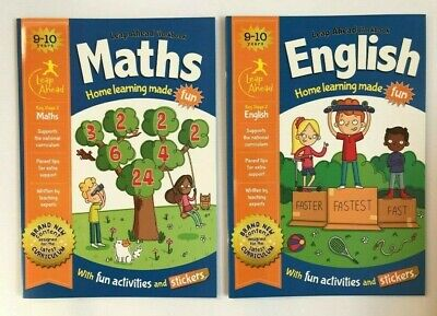 Leap Ahead Maths & English Igloo Workbooks Set Ages 9-10 KS2 Year 5 Primary New