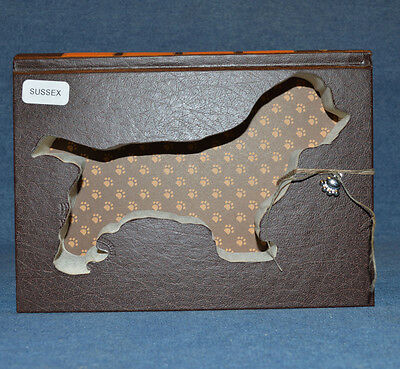 Sussex Spaniel Upcycled Book - 003