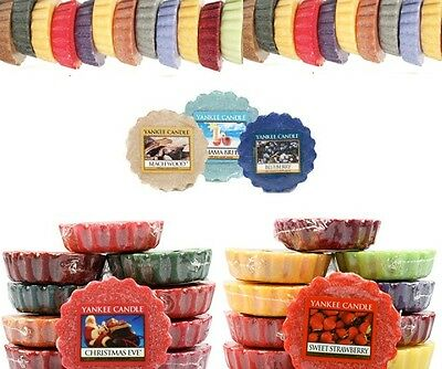 Yankee Candle Wax Melts Burner Tarts x 1 x 5 x 10 NEW Choose Your Scent