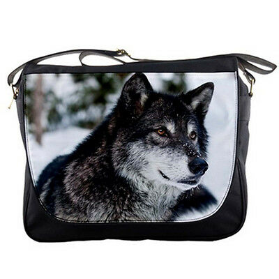 Wolf Shoulder Messenger Bag