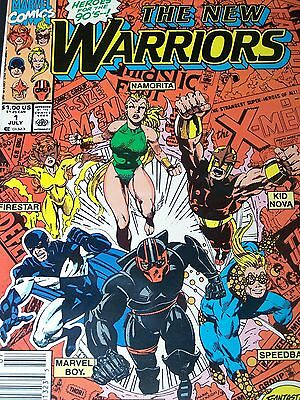 New Warriors Issues 1 2 3 4 5 6 7 8 9 10 11 112 13 14 15 16 17 18 19 20 21 - 31