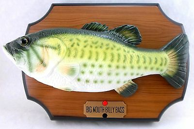 New big mouth billy bass singing fish take me to the for Big mouth fish