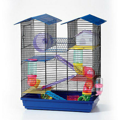 House Design Hamster Cage House for Mice Rodent Mouse Habitat