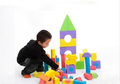 Educational Soft EVA Foam Kid Children Play Toys Building Blocks Bricks Set  G