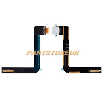 White Charger Charging Port USB Dock Connector Flex Cable For Apple iPad Air