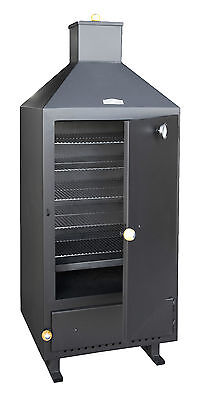Heavy Duty Smoker LARGE for Outdoor Use Smoking Oven 4mm Steel 156cm high