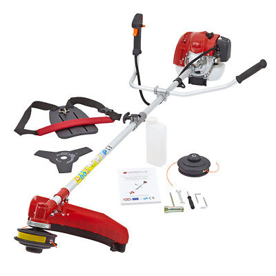 New 68cc Petrol Power Grass Trimmer Brush Cutter Heavy Duty 3KW 4HP