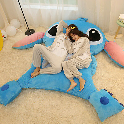 New Cute Huge Giant Stitch Bed Carpet Tatami Mattress Sofa Filled Great gift