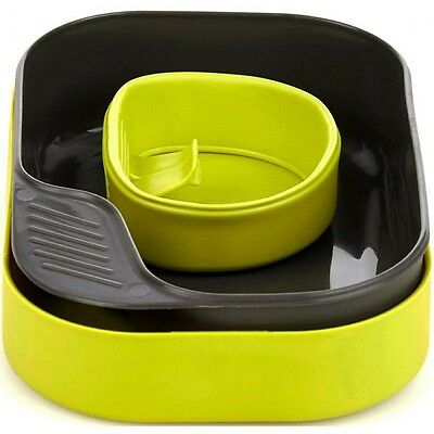 Wildo Camp A Box Mess Set 11 Colours Bpa Free Camping Plate Set With Cup & Lid