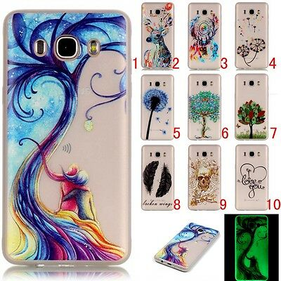 Fluorescence TPU Phone Cases For Samsung Galaxy Luminous Soft Silicon Cover Case