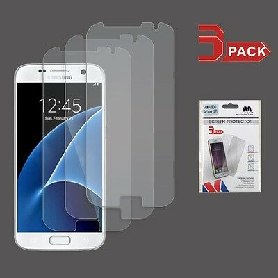 3-Pack Screen Protector Film Clear for Samsung Galaxy S7