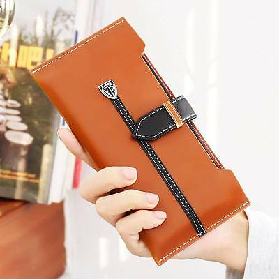 Universal Wallet Case Luxury PU Leather Pouch Purse Cover for Cell Mobile Phones
