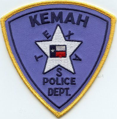 Kemah Texas Tx Police Patch