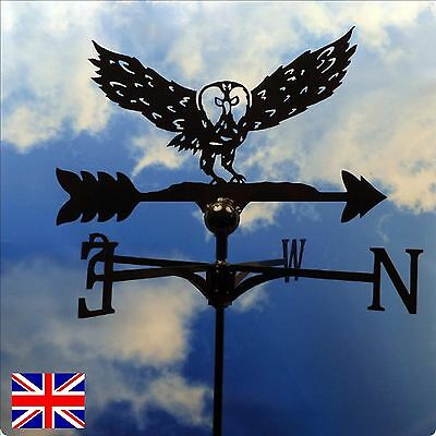 High Quality British Made Landing Owl Weathervane in 2 Sizes & Finishes(77)
