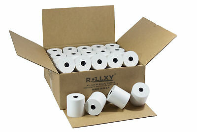 "3"" x 165' 1 PLY BOND PoS RECEIPT PAPER 50 ROLLS ** FREE SHIPPING **"