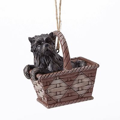 TOTO in Basket Ornament by Jim Shore - 4054569 - NEW!