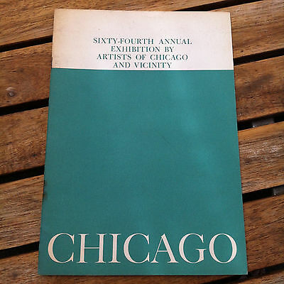 Sixty-Fourth Annual Exhibition by Artists of Chicago and Vicinity 1961 Catalog