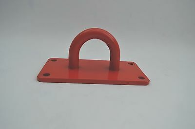 Heavy duty ground wall anchor ultimate 20mm steel loop Security motorcycle quad