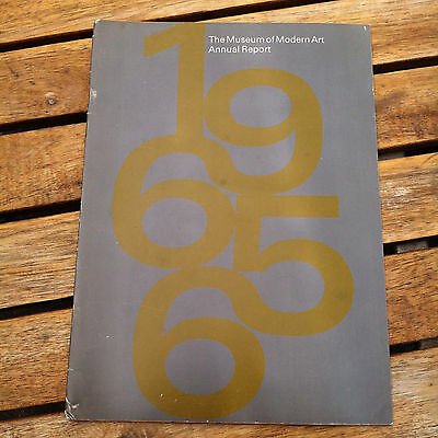 The Museum of Modern Art Annual Report 1965-1966 MOMA Exhibitions