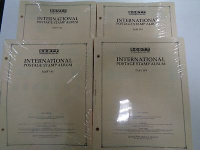 Scott International Part 1 1840-1940 A-Z WW & US complete Stamp album pages NEW