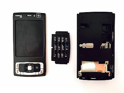 Nokia N95 Black replcement parts full Housing body cover case keypad