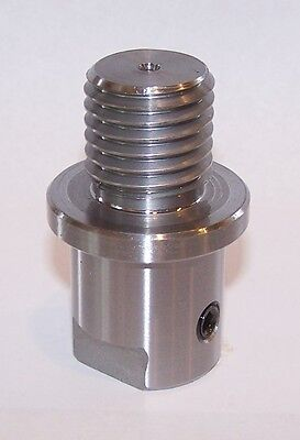 "Lathe Spindle Adapter Fits Shopsmith 5/8"" Spindle to 1"" - 8Tpi Threaded Chucks"