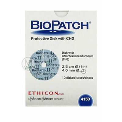 ETHICON Biopatch Antimicrobial Dressing  Model: 4150