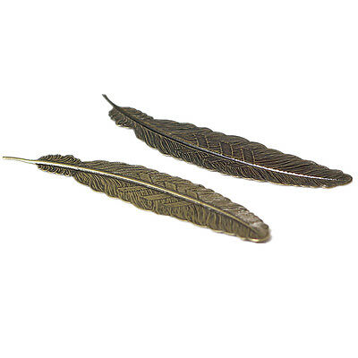 New Style Classical Delicacy Feather Metal Bookmark