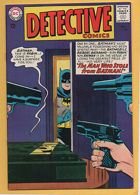 Detective Comics #334 DC Comics 1965 1st Appearance of the Outsider FN+