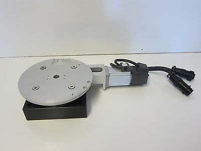 "Parker RT Precision Rotary Table (5"") w/Rexroth Syncro Drive Servo Motor"