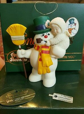 "Department 56 Snow Babies ""frosty The Snowman Jolly And Happy With You""  F112"