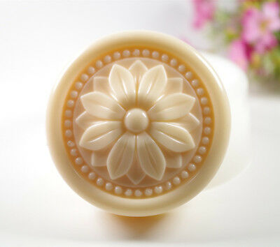 Flower S465 Silicone Soap molds Craft  DIY Handmade soap Mold Mould