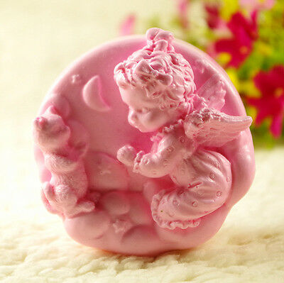 Baby Angel S453 Silicone Soap molds Craft  DIY Handmade soap Mold Mould