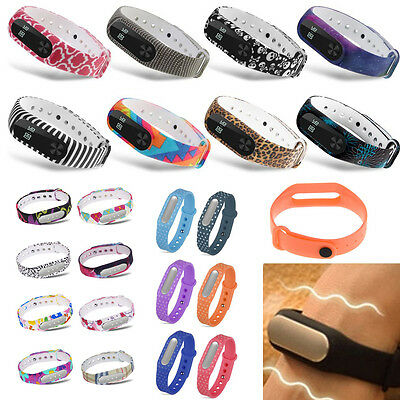 Waterproof Replacement Wrist Strap Band For Xiaomi Mi Band 1 1S 2 Smart Bracelet