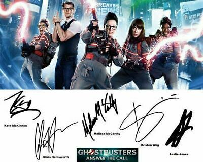 Ghostbusters 2016 Melissa McCarthy Kate McKinnon Signed Photo Autograph Reprint