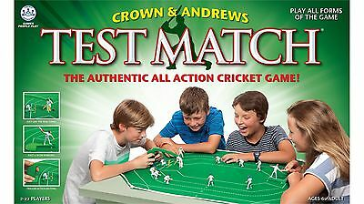 Crown & Andrews Test Match Authentic Cricket Action Board Game - 2-22 Players