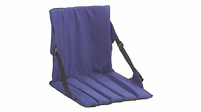 Coleman 600D Polyester Stadium Seat with Shoulder Strap - Blue