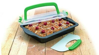 BergHOFF Rectangular Pan with Slice Tool & Cover Lid