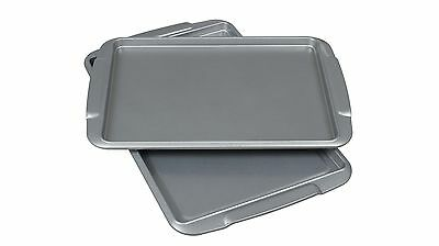 Davis & Waddell Big & Little Baking Trays with High Quality Non Stick Coating