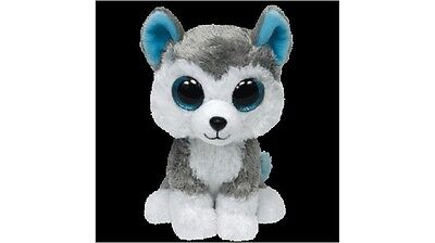 "TY Beanie Boo 6"" Slush the Dog Plush Toy Ideal as a Bedroom Display"
