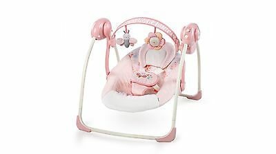 Ingenuity Felicity Floral Portable Swing, Adjustable Speed & Soothing Melodies